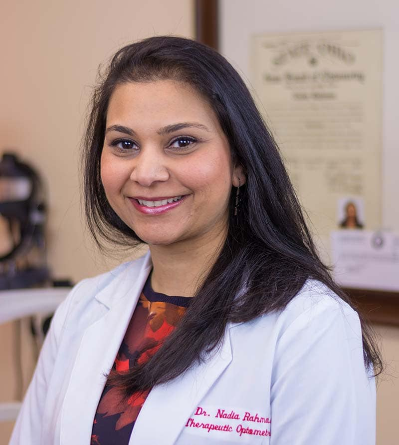 Dr. Nadia Rahman, OD